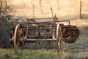 maquinário agrícola antigo