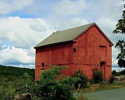 construção de fazenda foto
