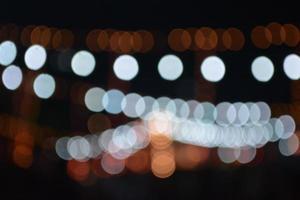 distorção de luzes