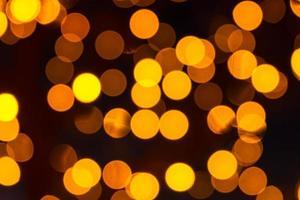 bokeh de fundo das luzes do feriado