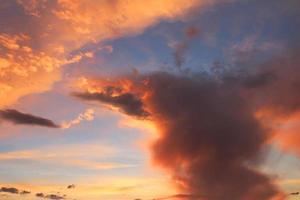 fundo do céu foto