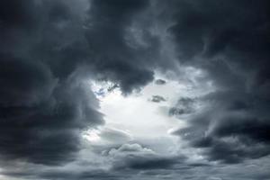fundo do céu tempestuoso