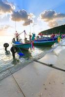 barcos, céu, praia foto