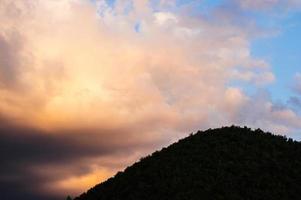 Céu laranja