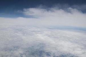 nuvens e céu foto