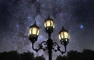 noite no parque foto