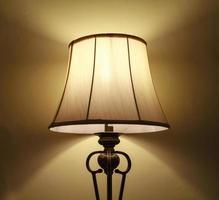 lâmpada retro foto
