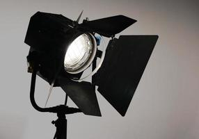 lâmpada de fresnel de estúdio