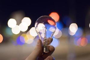 lâmpada a noite