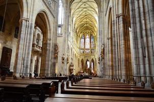 interior da igreja foto