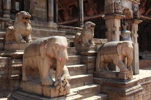 bhaktapur tempelstadt em kathmandu nepal