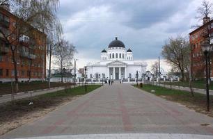 Catedral Spasskiy em Nijniy Novgorod foto