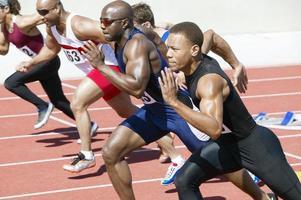 atletas competindo
