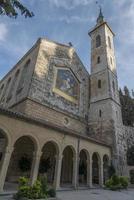 a igreja da visitação, ein-kerem, jerusalém, israel