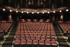assentos vazios no teatro foto