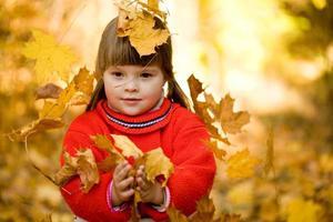 alegria de outono foto