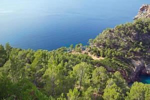 sa foradada - ilha mediterrânea de Maiorca foto