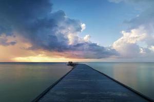 nascer do sol em Key West foto