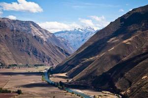 paisagem urbana peruana