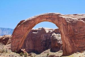 monumento natural da ponte arco-íris, lago powell, arizona foto