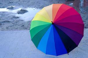 guarda-chuva de arco-íris