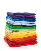 roupa do arco-íris