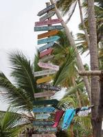 placa de sinalização internacional