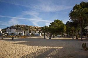 praia de palmeiras santa ponsa mallorca maiorca foto