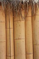 tiki, cabana de bambu