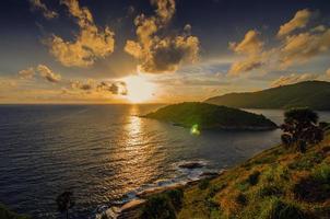 paisagem marinha de phuket