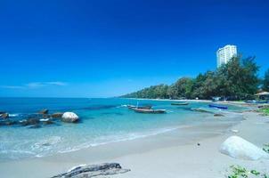 praia tropical.