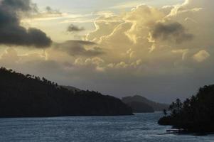 vista do resort bridge cayacoa, samana, playa loma escondida