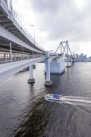 ponte do arco-íris no Japão