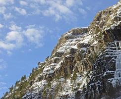 montaña y cielo