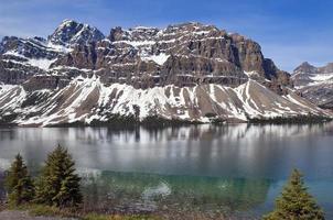 Lago Esmeralda. banff alberta, canadá