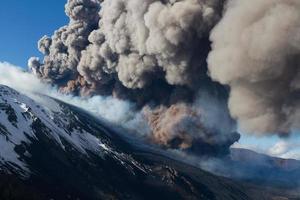 erupção etna