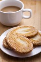 biscoitos de palmier francês