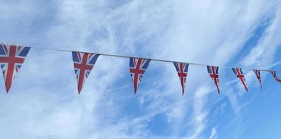 comemoração de bunting - Union Jack