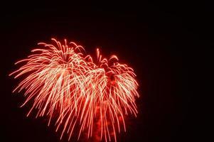 fogos de artifício celebrados