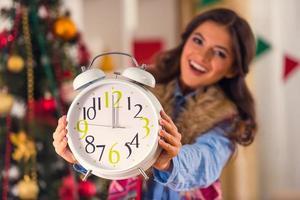 celebração de feliz natal foto