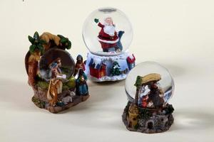 decorações de natal para a mesa b foto