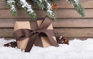 caixa de presente de feriado