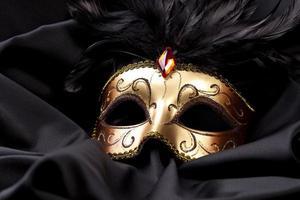 máscara ornamentada de carnaval veneza