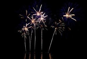 belo fogo de artifício