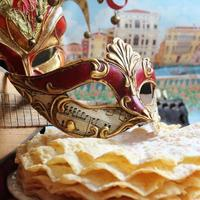 mascara de carnaval foto