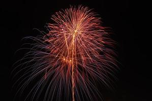 fogos de artifício no dia dos pais