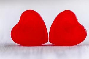 dia dos namorados coração doce e biscoitos foto