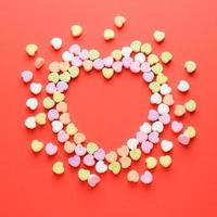 doce do dia dos namorados em forma de coração foto