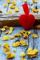 coração vermelho foto