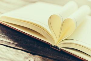 livro coração foto